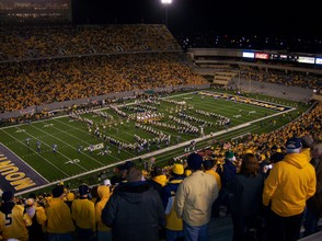 WVU Opening game at Mountaineer Field