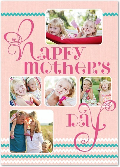 Twee Swirls Mother's Day Card by Hallmark