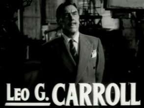 Leo G. Carrol in Non-Hitchcock film