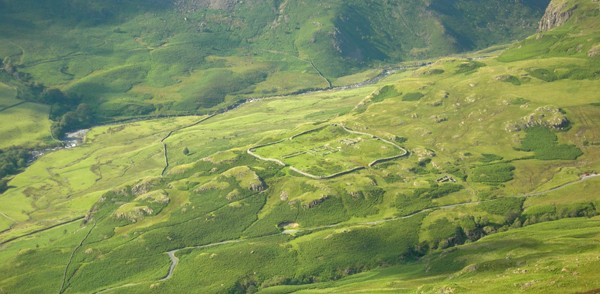Hardknott Pass & Roman Fort