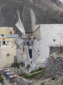 Wind mill, Olympos