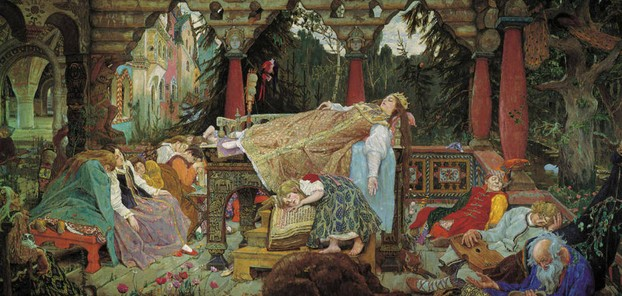 Sleeping Beauty by Viktor Vasnetsov