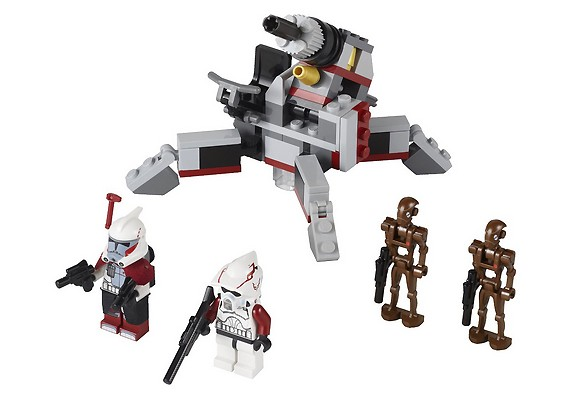 LEGO 9488 Elite Clone Troopers & Commando Droids