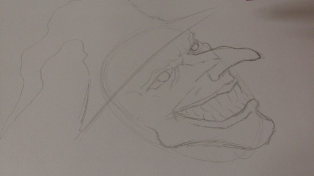 Line Drawing Of Witches Face : Drawing a wicked witch s face
