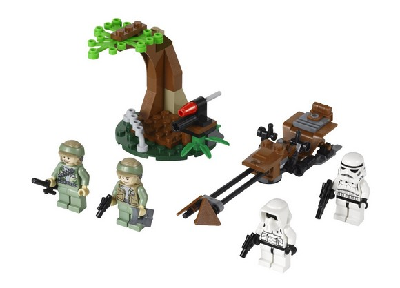 LEGO 9489 Endor Rebel Troopers & Imperial Troopers
