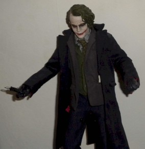 The Joker collectible figure from DC Comics featuring Batman