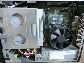 Image: Computer one is dust-free!