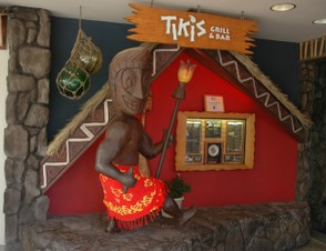 Tiki's Bar and Grill Entrance