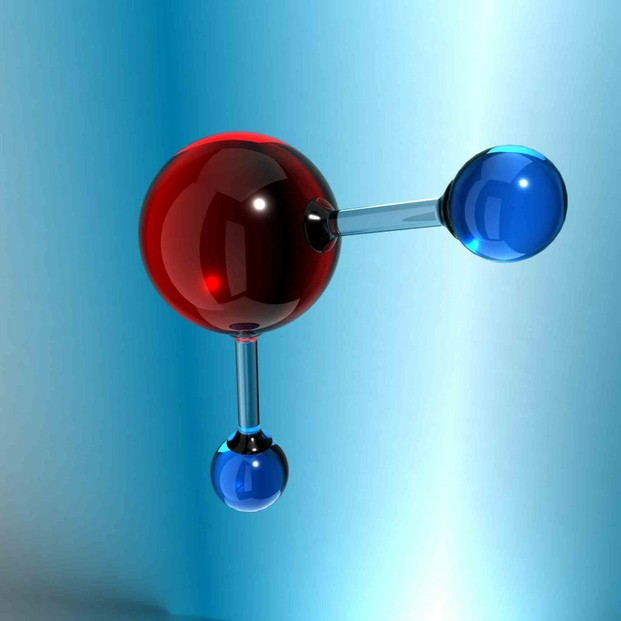 Water Molecule Glass