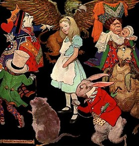 Alice in Woderland by Jessie Willcox Smith