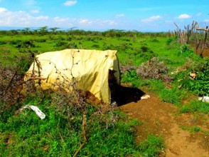 Maasai Guards' Tent