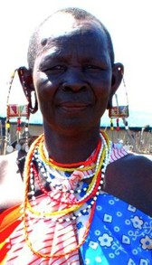 Older Maasai Woman