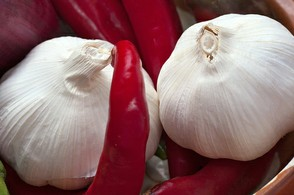 Garlic and Chillies