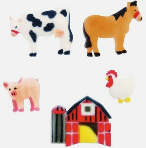 Farm Animal Cupcake Supplies