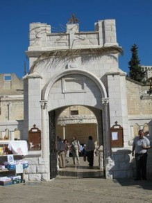 Entrance to Greek Church of the Annunciation
