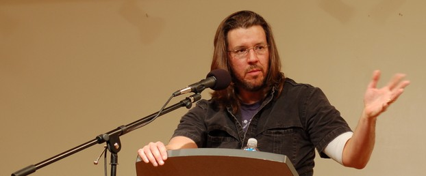 David Foster Wallace, book reading