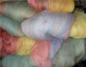 Dyed Batts