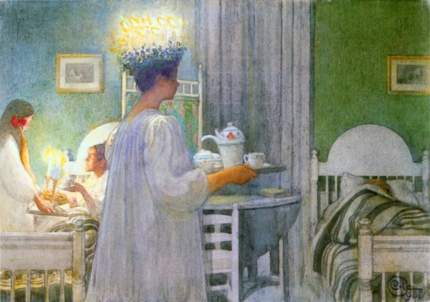 Carl Larsson's Lucia Celebration