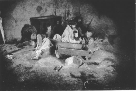 Image: Irish family during the famine.