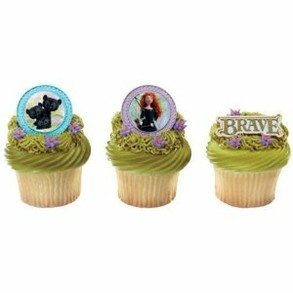 Princess Merida Brave Cupcake Rings