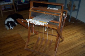 My wonderful little Dorset folding loom