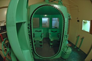 Image: California's San Quentin Gas Chamber