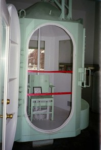 Image: Colorado's Canon City Penitentiary Gas Chamber