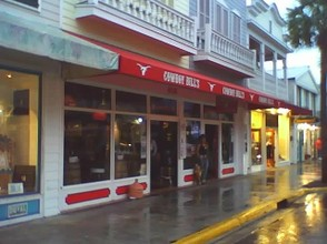 A rainy day in Key West