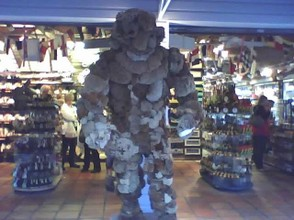 Wow, a Spongeman! Where else but in Key West!