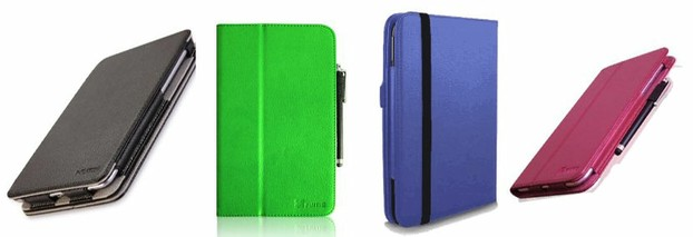 A few of the cases for the Google Nexus 7