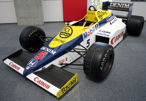 Williams FW10 Honda Collection Hall