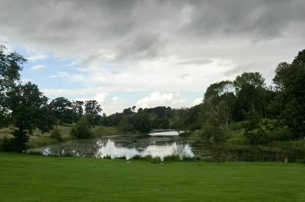 Image: Stormclouds over the Staunton Harold Estate