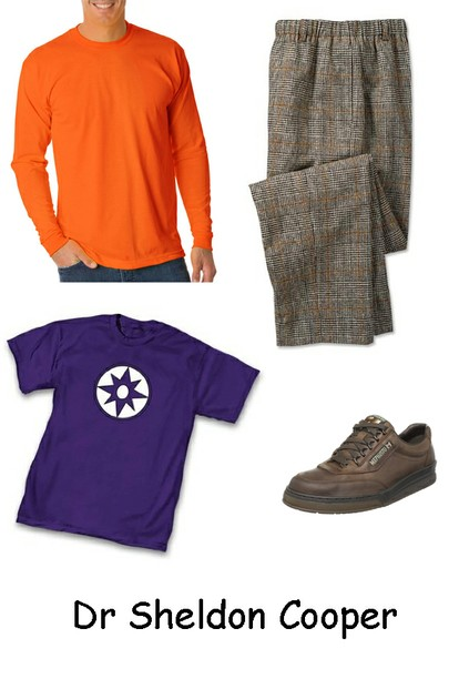 Sheldon Cooper Costume Ideas