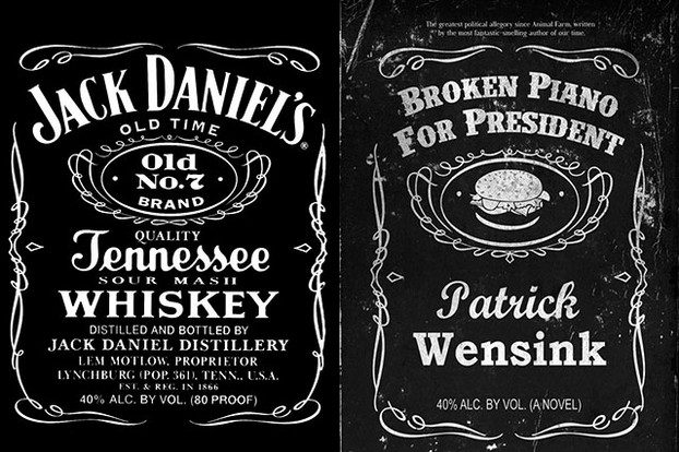 Jack Daniels Vs. Author Art