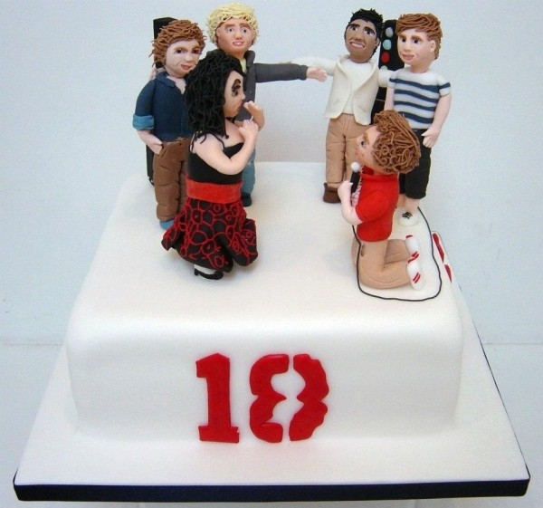 Miraculous One Direction Birthday Cake Funny Birthday Cards Online Elaedamsfinfo