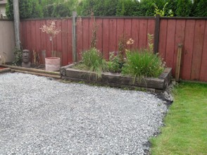 raised 'garden' area