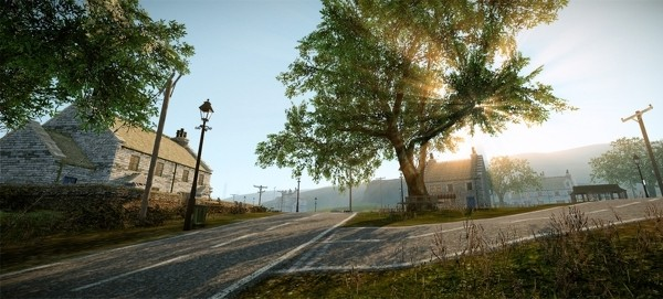 Image: Early screenshot from Everybody's Gone to the Rapture.