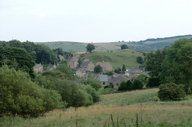 Image:  Eyam in Derbyshire