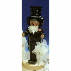 Steinbach Wedding Groom Smoker - Retired - Signed
