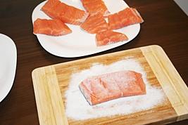Rub Salmon in Low-Sodium Salt