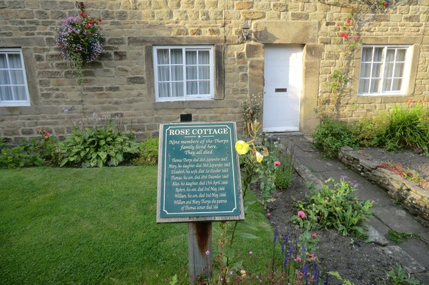 Image:  Rose Cottage, Eyam