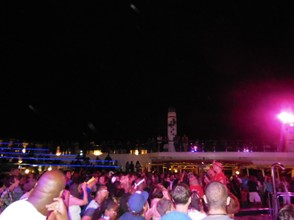 Party on the Cruise Deck