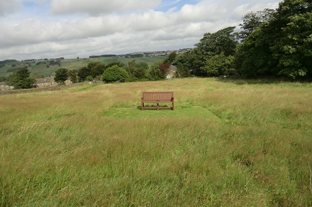 Image:  Parson's Field, Bronte Parsonage, Haworth