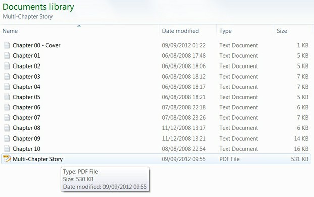 Image: My txt documents combined into a PDF