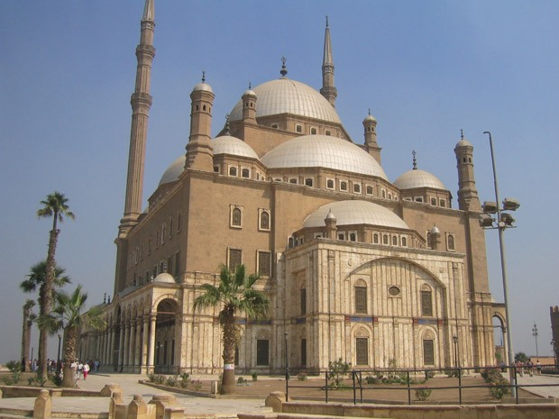 The Saladin Citadel in Cairo