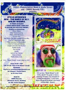 Flyer for Welsh Wizard on DMMG Records
