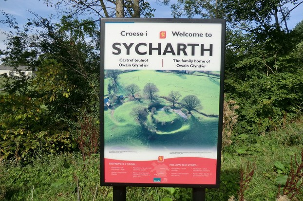 Image: Sycharth Welcome Sign