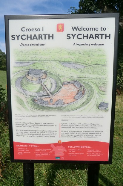Image: Sycharth Information Sign