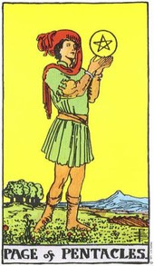 page pentacles