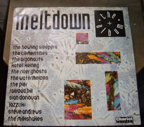 Meltdown the Album sleeve